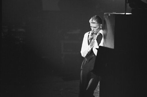 """David Bowie 1976, époque """"Station to Station"""""""