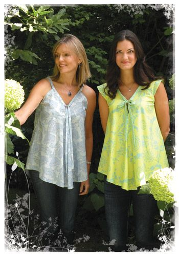 Fabric... Summer Time Swing Top Sewing Pattern by Favorite Things