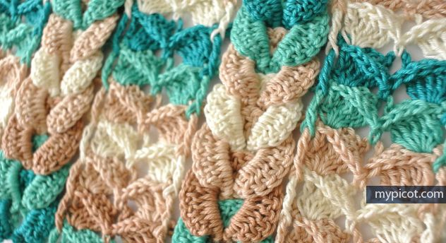 28 best Crochet Cable Blankets images on Pinterest | Knitted afghans ...