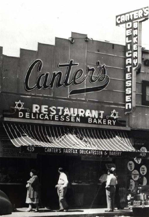 Canter's Fairfax  Delicatessen and Restaurant  419 North Fairfax Avenue  Los Angeles, California 90036  Tel: (323) 651-2030  Located on Fairfax Ave. between  Beverly Blvd. and Melrose Ave