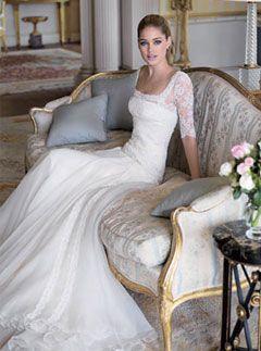 modern yet romantic - Manuel Mota wedding dress