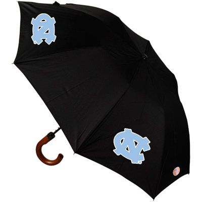North Carolina Tar Heels (UNC) Game Day Umbrella - Black