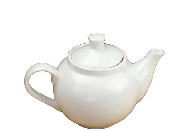 Great classical piece:): Plain White, Teapots Goes, Ceramics Projects Ideas, Ceramics Projectsidea, Basic Teapots, Daily Spots, Products, White Teapots, Teas Parties