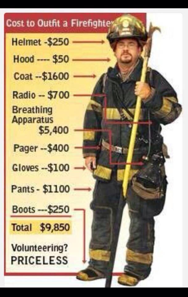 Volunteer Fireman Priceless