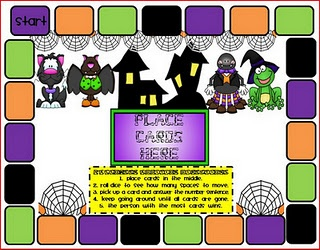 tpt Halloween math game: Daily 5 Writing,  Internet Site, Math Games,  Website, Web Site, Halloween Fun, Writing Tips, Halloween Math, Addition Games