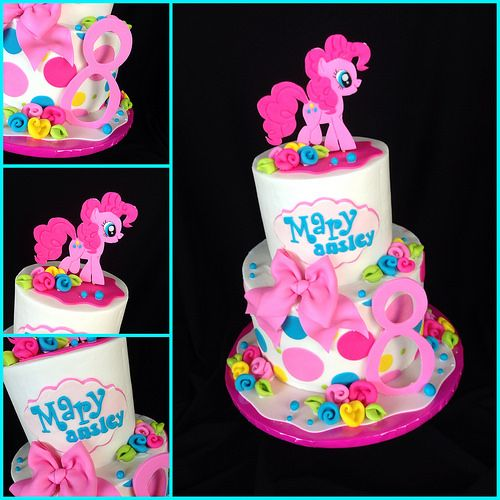My Little Pony Pinkie Pie Cake