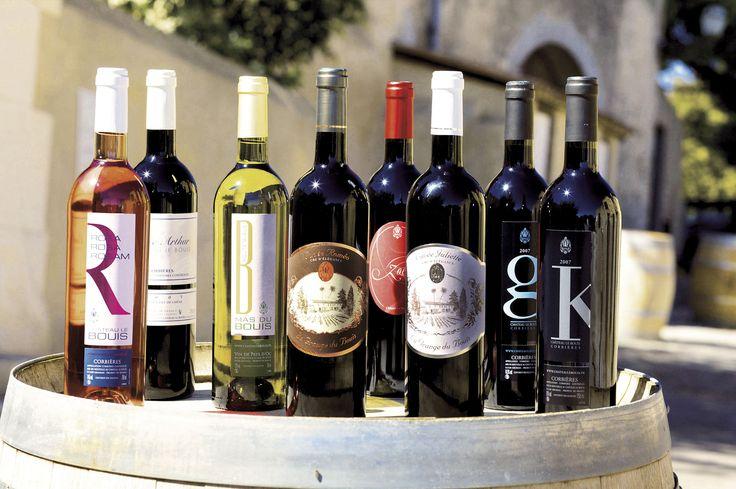 Nos différentes cuvées #vin #wine #wineyard #redwine #whitewine #rosewine #PaysdOc #AOP #AOC #Corbieres #IGP #médaille #medal #GuideHubert #GuideHachette #Decanter #Feminalise #CrusdElegance