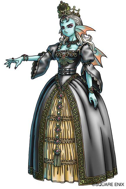 女王ディオーレ。ドラクエ10のキャラクターまとめ