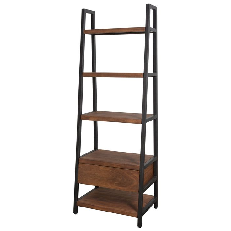 The Verde Wyatt Bookcase from LH Imports is a unique home decor item. LH Imports Site carries a variety of Verde items.