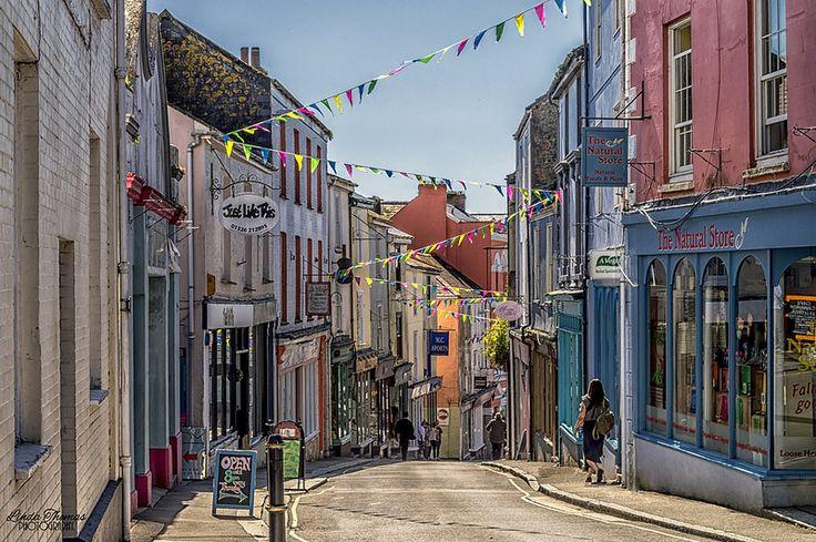The High Street, Falmouth, Cornwall