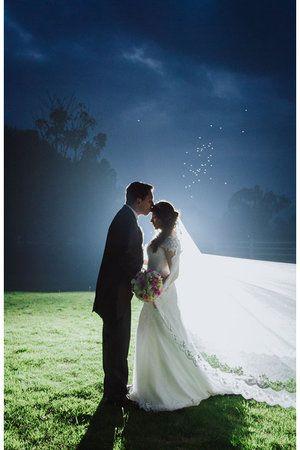 Bodas de noche -  Novios - Wedding photography  © Aica Films.