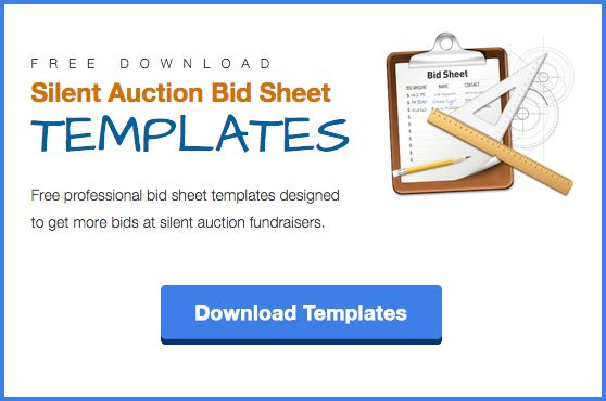 Download Silent Auction Bid Sheet Templates