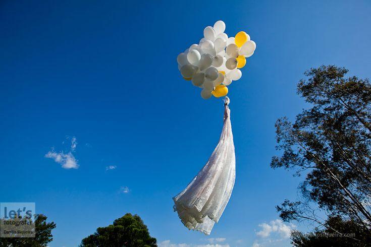 O vestido voador, não podia faltar. #letsday