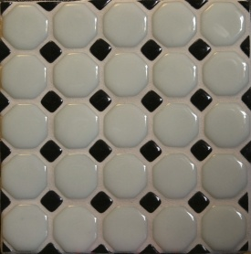 ... design on Pinterest  Small bathroom tiles, Penny round tiles and Tile