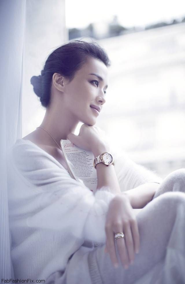 Shu Qi for new BVLGARI Campaign for LVCEA Timepieces. #bvlgari