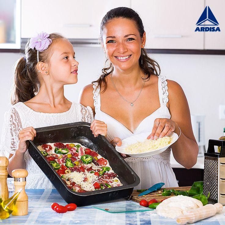Toda mamá sabe como conquistar el paladar de su familia y para eso necesita de una buena #cocina que la inspire a preparar los platos más creativos. #kitchen #decoracion #design #homedecor