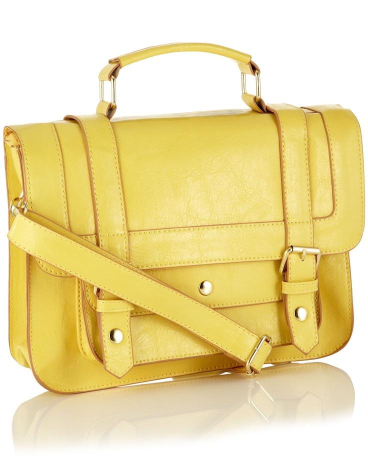 Soho Satchel: Fashion, Soho Satchel, Yellow Satchel, Messenger Bags, Cambridge Satchel, Styles, Usaccessorizecom Soho, Products, Neon Yellow