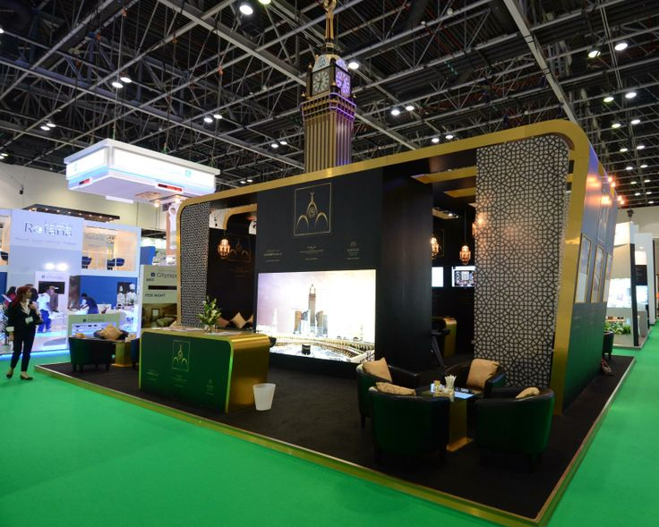 Trade show booth at ATM Dubai 2013. Design and installation by Elevations Exhibition Design & Management Ltd.