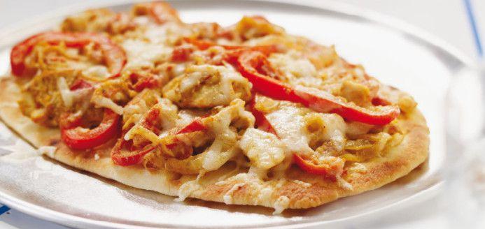 Naan Pizza Recipes | Ricardo