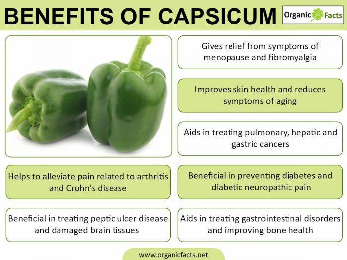 9 Health Capsicum Benefits Uses Benefits Of Organic Food Fruit And Vegetable Diet Vegetable Diet