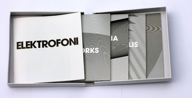 Elektrofoni box set for prisma records - Norwegian experimental composer, guitarist and micro-tonal music pioneer Bjørn Fongaard (1919-1980). http://www.cardboardrobotcreative.com/cardboard-wallets-and-special-packaging/ #boxset #cdreplication #special packaging