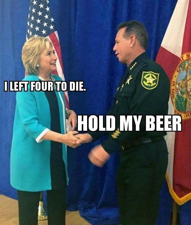 Had she won, Sheriff Israel was her pick for FBI director, & he is also Debbie Wasserman-Schultz next door neighbor.