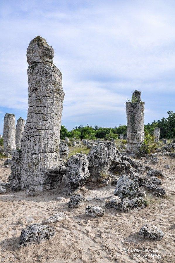 The Stone Forest - Bulgaria (Pobiti Kamani) #StoneForest #PobitiKamani #Bulgaria #Travel #TravelPhotography #Photography #travelblogger