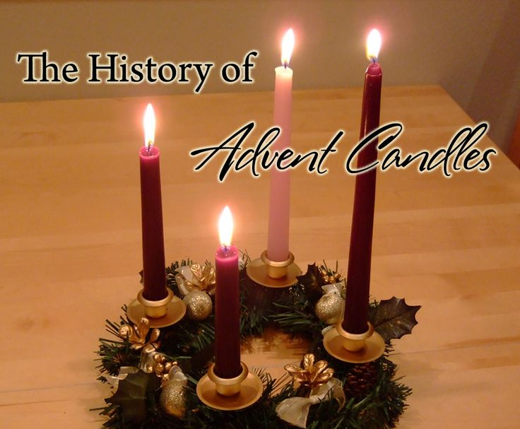 The history of advent wreath candles christmas for Advent candle decoration