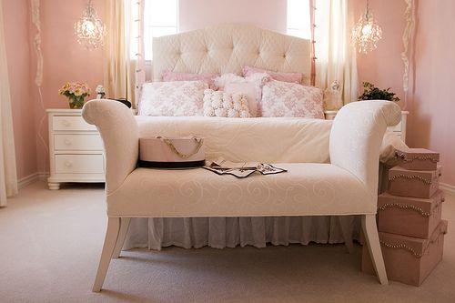 light pink room