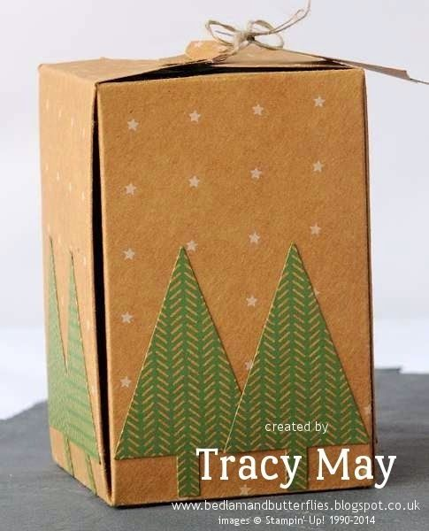 New Stampin' Up! Gift Box Punch Board, Tree Punch, Under the Tree Sepeciality DSP