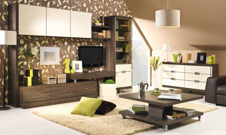 Alicja 1 nábytek do obývacího pokoje kombinuje dvě protikladné barvy, které společně vytvářejí příjemný útulný styl. http://www.mabyt.cz/33882-obyvaci-stena-alicja-1-.htm