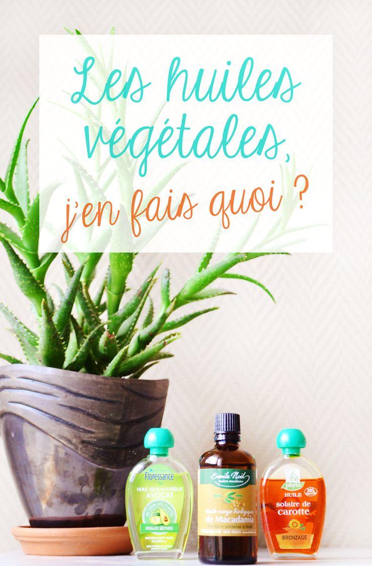 Dans la cuisine, dans la salle de bain ou sur sa table de chevet, les huiles végétales ont plus d'un tour dans leur sac ! Fanny les étudie depuis longtemps et nous dit tout ce qu'il y a à savoir sur ses huiles végétales préférées ! http://www.sweetandsour.fr