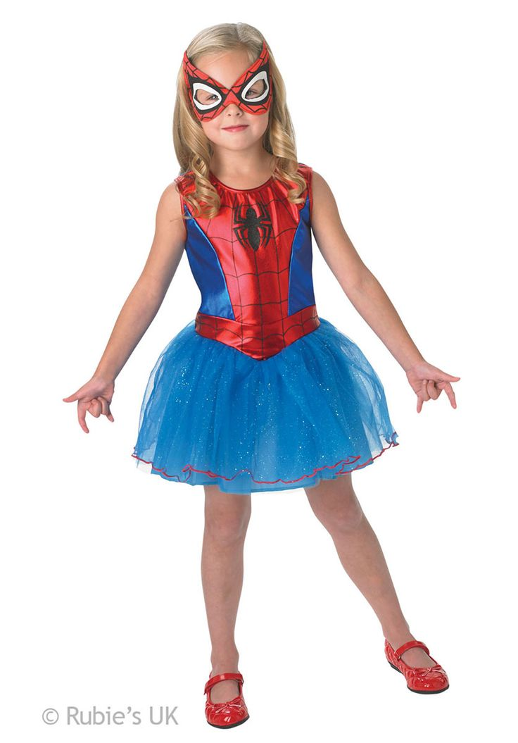 Spider-Girl Costume, Super Heroes Fancy Dress for Children | Escapade® UK