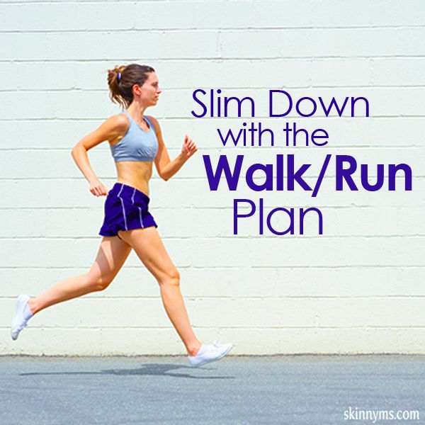 Slim Down with the Walk Run Plan #walk #run #fitnessprogram