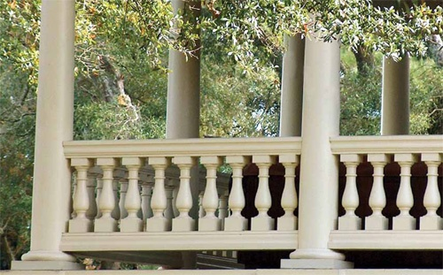 Permacast columns and other porch products by hb available for Permacast columns