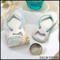 """""""Pop the Top"""" Flip-Flop Bottle Opener Great wedding favour for a beach themed wedding! #thingsengraved #thingsengravedgifts"""