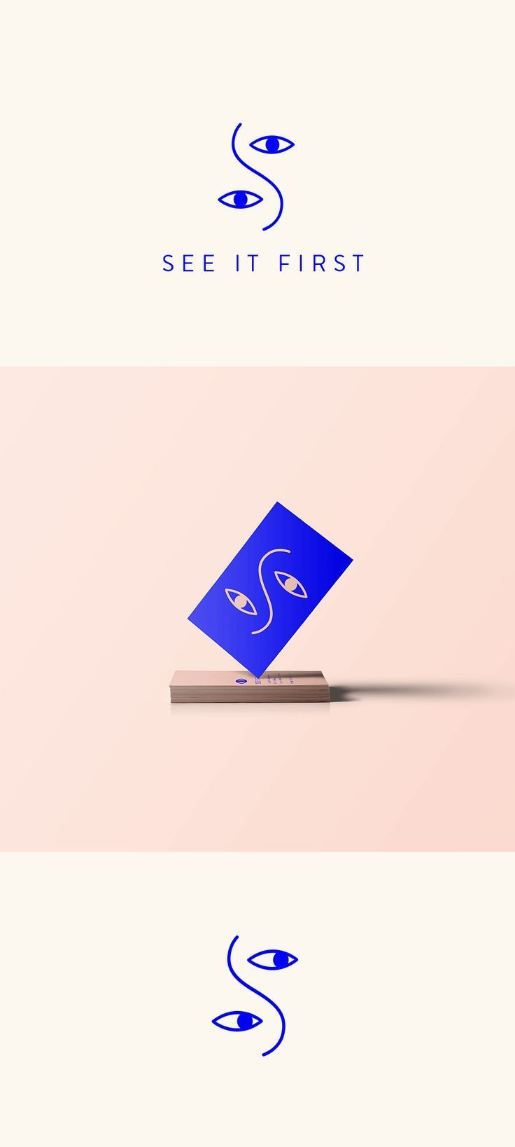 See It First on Behance, modern graphic design, cl…