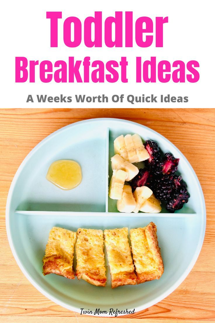 Toddler Breakfast Meals Toddler Breakfast Breakfast For Kids Easy Breakfast