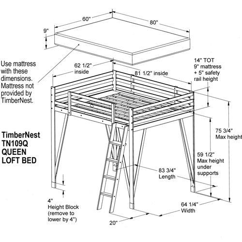 1000 images about loft bed designs on pinterest. Black Bedroom Furniture Sets. Home Design Ideas