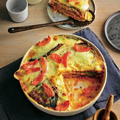 Wirsing-Lasagne mit Hirschragout | BRIGITTE.de