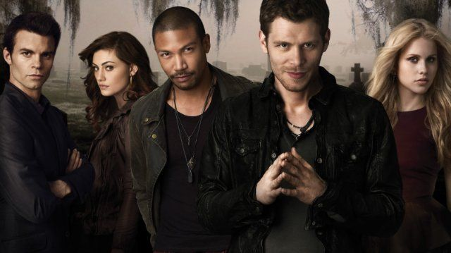 Still of Daniel Gillies, Joseph Morgan, Phoebe Tonkin, Charles Michael Davis and Claire Holt in The Originals (2013)
