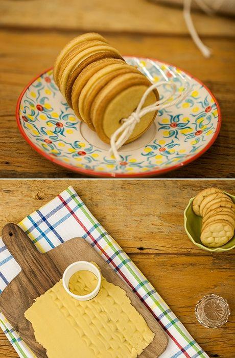 #NatalPanelinha: biscoito amanteigado de presente