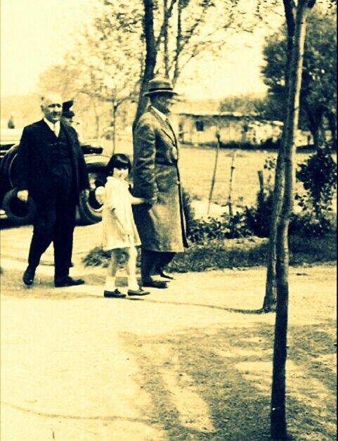 Mustafa Kemal Atatürk is at Atatürk Orman Çiftliği