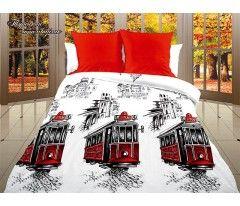 Постельное белье «Dolce Vita Luxe» Турецкий трамвайчик