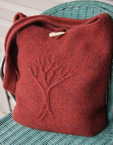 Easy Knitting Pattern For Bag : 1000+ images about Tree of Life Afghan on Pinterest