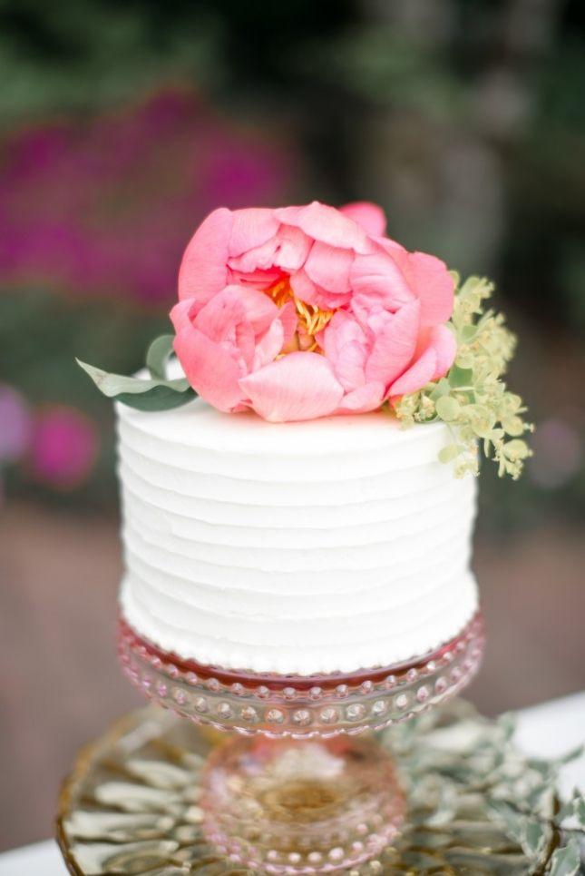 The 25 Best Single Tier Cake Ideas On Pinterest