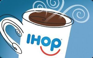 Buy $25 IHOP Gift Card For Only $23.75!! FREE Mail Delivery