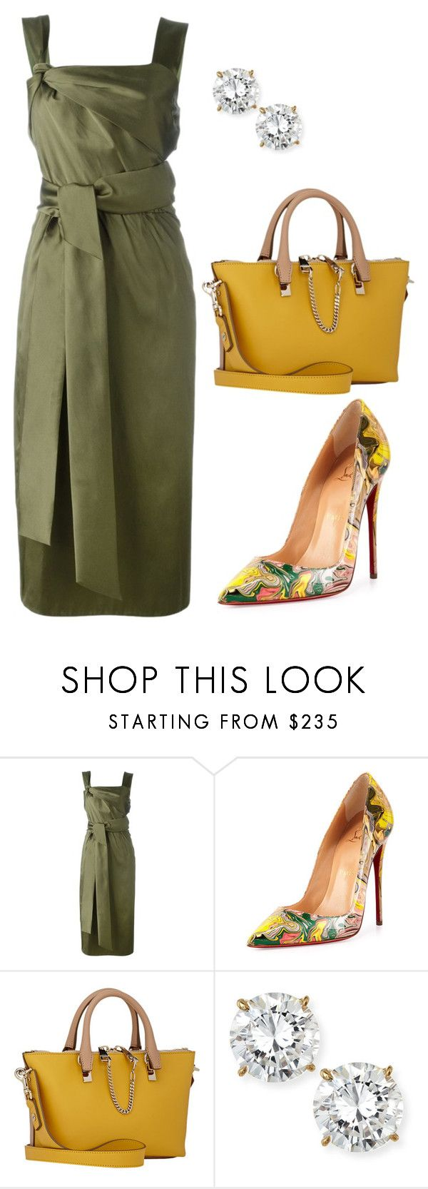 """style theory by Helia"" by heliaamado on Polyvore featuring moda, 3.1 Phillip Lim, Christian Louboutin, Chloé e Fantasia by DeSerio"