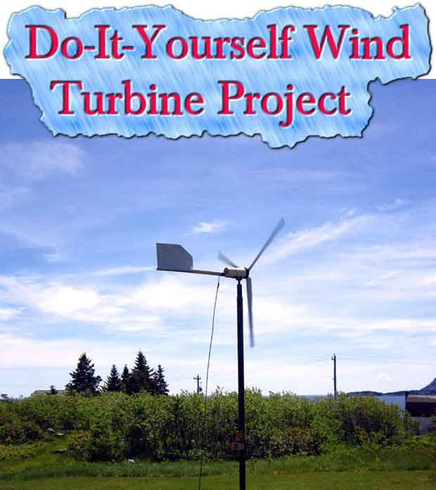 Welcome to living Green & Frugally. We aim to provide all your natural and frugal needs with lots of great tips and advice, Do-It-Yourself Wind Turbine Project