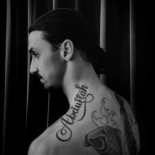 Zlatan Ibrahimovic ♥ Tattoo